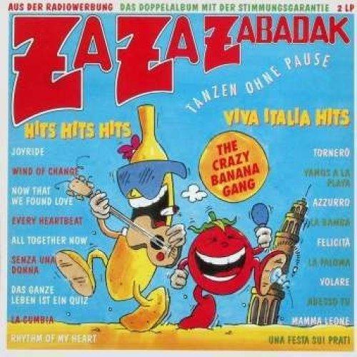 Bild 1: Za Za Zabadak-Crazy Banana (1990), 12 Mixe (prod. by Bernie Paul)