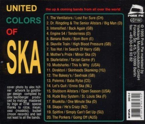 Bild 2: United Colors of Ska 2 (1995), Ventilators, Dr. Ringding/Senior Allstars, Intensified, Engine 54, Banana Boats..
