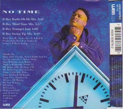 Bild 2: Rod D., No time (1993)