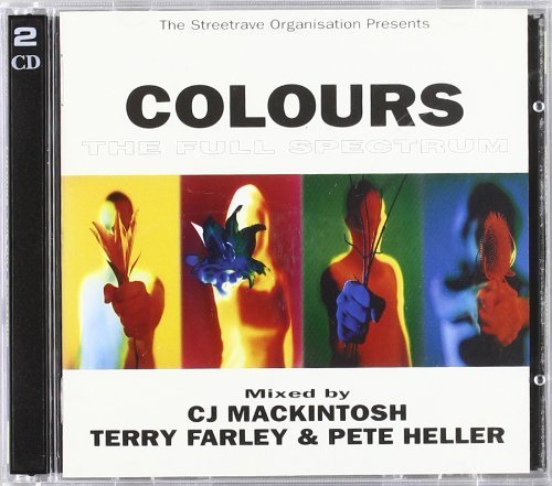Bild 1: Colours (by CJ Mackintosh, Terry Farley, Pete Heller, 1997), Ann Nesby, Michael Watford, Atmosfear, Hannah Jones..