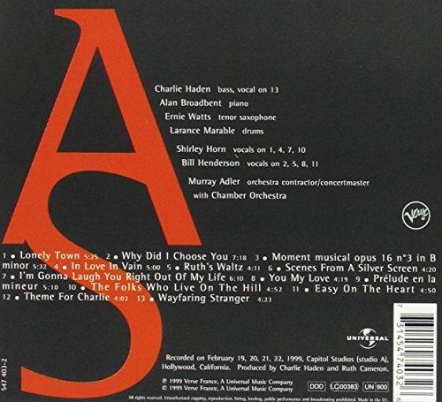 Bild 2: Charlie Haden-Quartet West, Art of the song