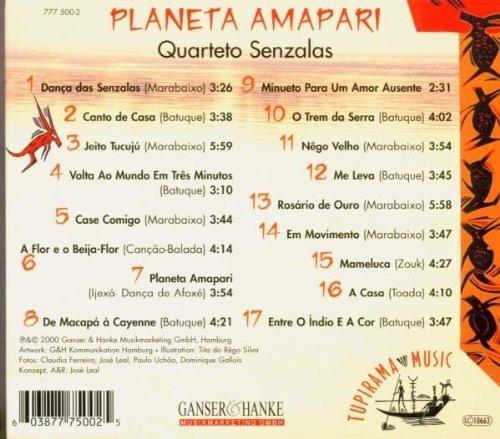 Bild 2: Quarteto Senzalas, Planeta amapari (2000)