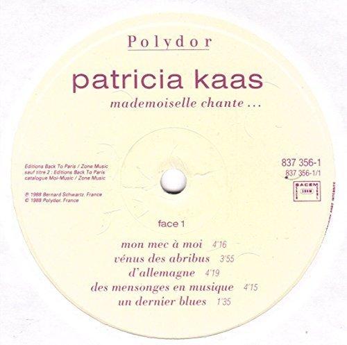Bild 3: Patricia Kaas, Mademoiselle chante (1988)