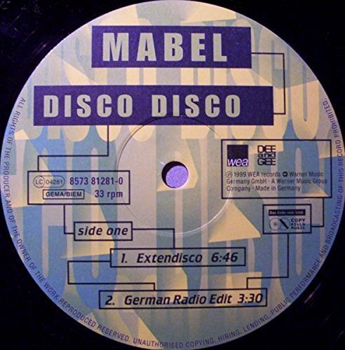 Bild 1: Mabel, Disco disco (1999)