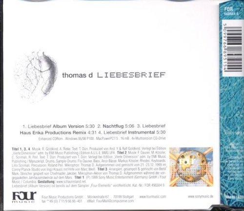 Bild 2: Thomas D., Liebesbrief (2000, #6689515)