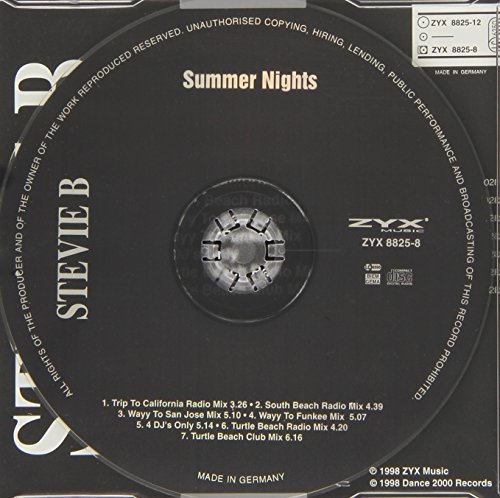 Bild 2: Stevie B., Summer nights (1998, #zyx8825)