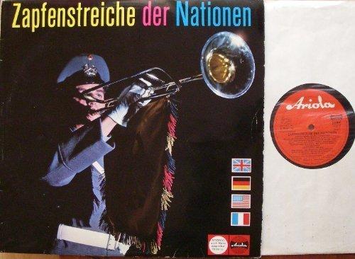 Bild 1: Zapfenstreiche der Nationen, Deutschland, USA, GBR, FRA