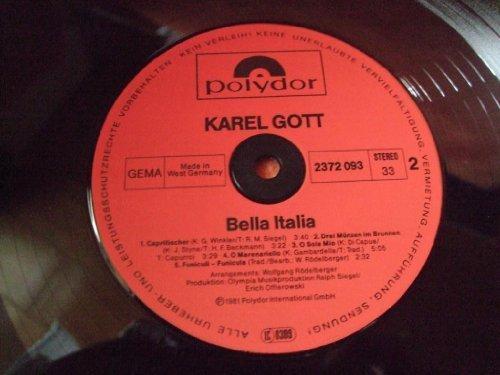 Bild 2: Karel Gott, Bella Italia (1981, Club)
