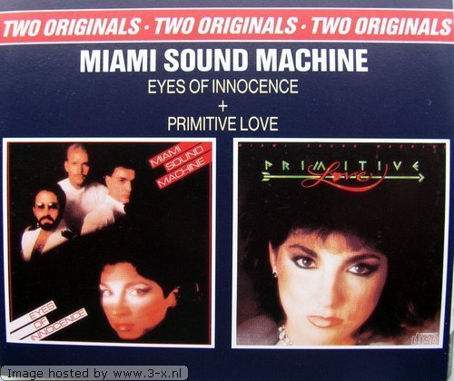Bild 1: Miami Sound Machine, Eyes of innocence/Primitive love (1984/85)