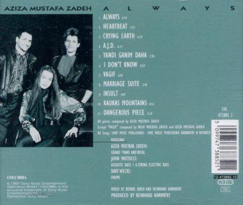 Bild 2: Aziza Mustafa Zadeh, Always (1993)