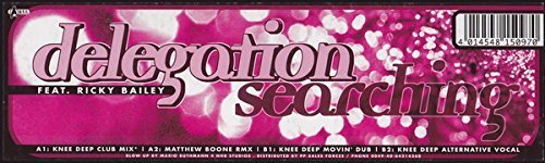 Bild 1: Delegation, Searching (Knee Deep Club Mix, feat. Ricky Bailey)