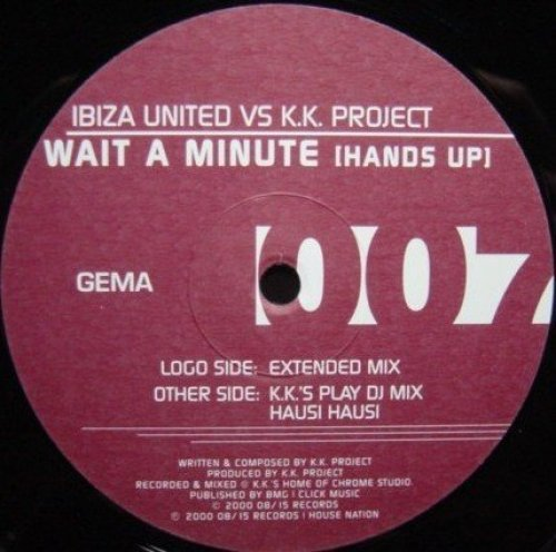Bild 1: Ibiza United vs. K.K. Project, Wait a minute.. (2000)