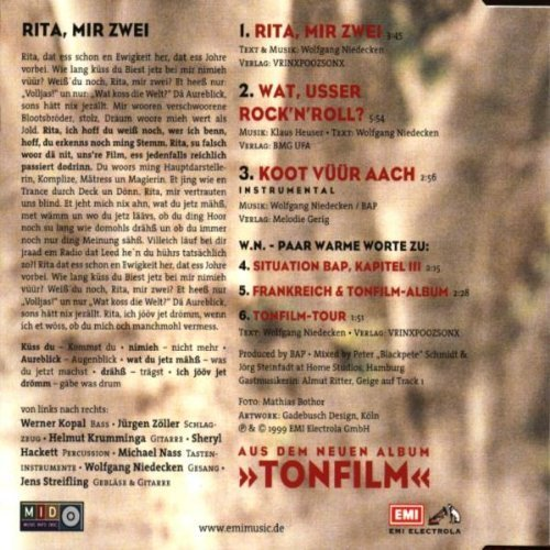 Bild 2: BAP, Rita, mir zwei (Fan Edition)