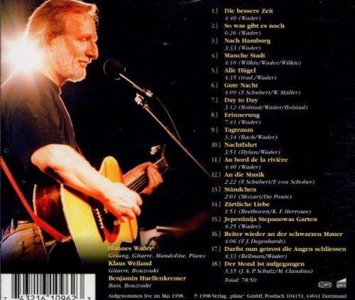 Bild 2: Hannes Wader, Auftritt (1998, live)