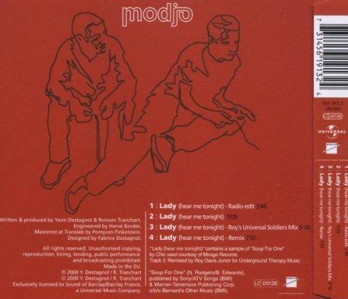 Bild 2: Modjo, Lady.. (2000, #5619132)