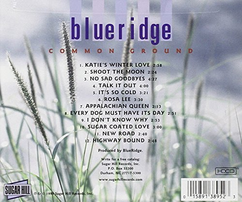 Bild 2: BlueRidge, Common ground (1999)