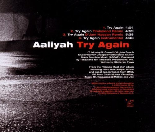 Bild 2: Aaliyah, Try again (2000)