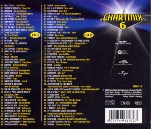 Bild 2: Chart Mix 6 (2000), Rollergirl, Aquagen, Cosmic Gate, Watergate, Kai Tracid..