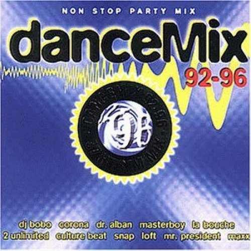 Bild 1: Dance Mix 92-96 (Polystar), Culture Beat, Playahitty, Capella, Ice Mc, La Bouche..