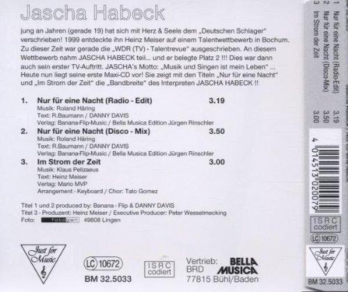 Bild 2: Jascha Habeck, Nur für eine Nacht (2000)