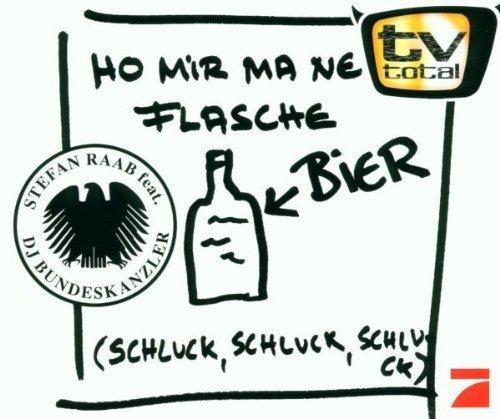 Bild 1: Stefan Raab, Ho mir ma ne Flasche Bier (2000, feat. DJ Bundeskanzler)