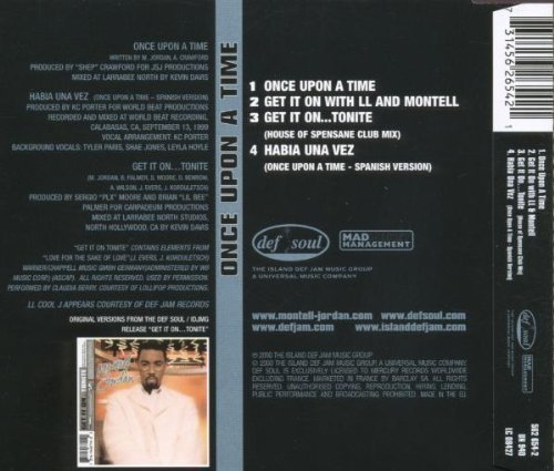 Bild 2: Montell Jordan, Once upon a time (2000)