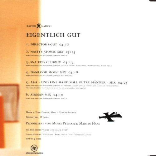 Bild 2: Xavier Naidoo, Eigentlich gut (6 versions, 1999)