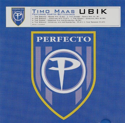 Bild 1: Timo Maas, Ubik (6 versions, 2000, feat. Martin Bettinghaus)