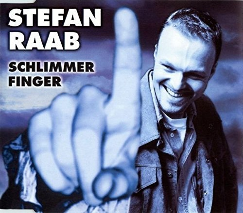 Bild 1: Stefan Raab, Schlimmer Finger (1998)