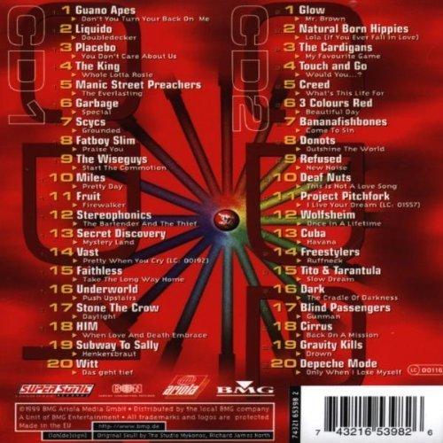 Bild 2: Crossing all over 09 (1999), Guano Apes, Liquido, Placebo, The King, Scycs..
