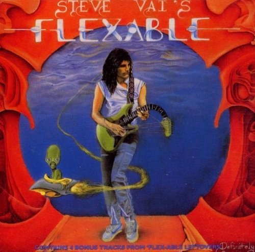Bild 2: Steve Vai, Flex-able leftovers (1984; 13 tracks)