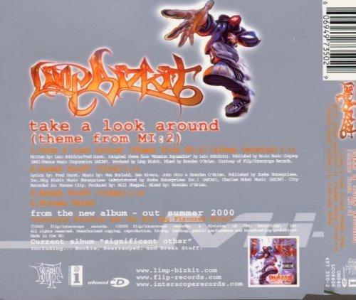 Bild 2: Limp Bizkit, Take a look around (2000, incl. video of 'Break stuff')