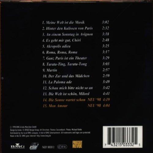 Bild 2: Mireille Mathieu, Meine Welt ist die Musik (1998)