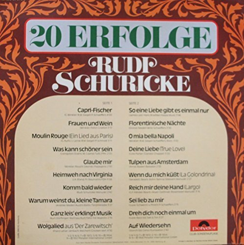 Bild 2: Rudi Schuricke, 20 Erfolge (Club)