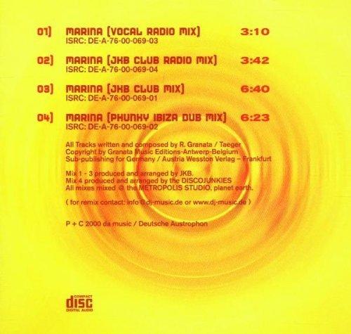 Bild 2: Rocco G. Project, Marina (2000)