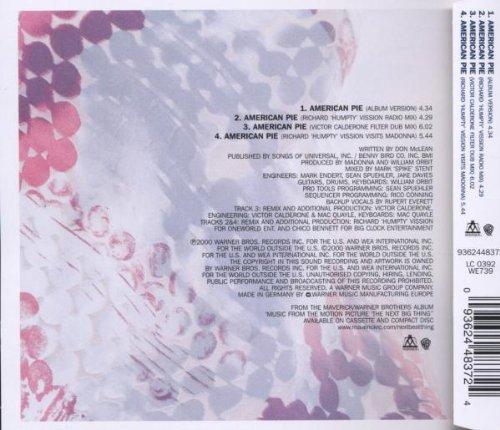 Bild 2: Madonna, American pie (2000)
