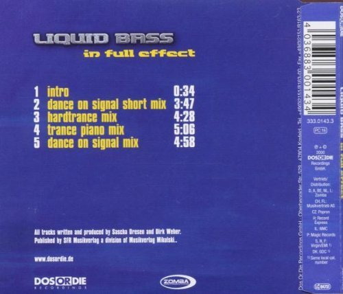 Bild 2: Liquid Bass, In full effect (Intro/4 versions, 2000)