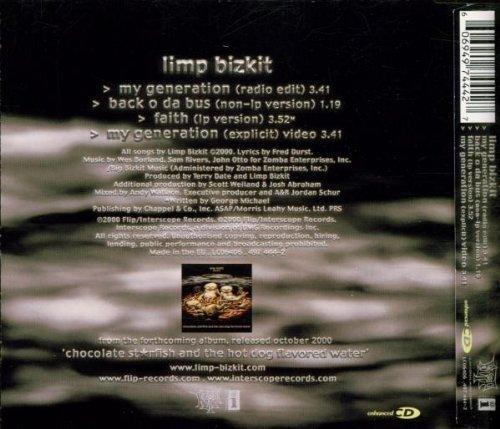 Bild 2: Limp Bizkit, My generation (2000, #4974442)