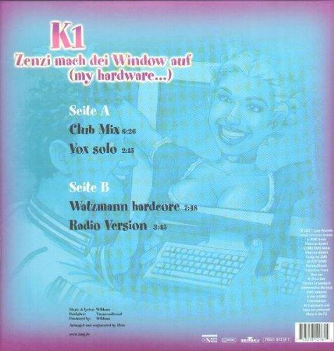 Bild 2: K1, Zenzi mach dei Window auf.. (2000)