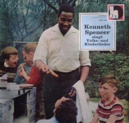 Bild 1: Kenneth Spencer, Singt Volks- und Kinderlieder (#smvp6020)
