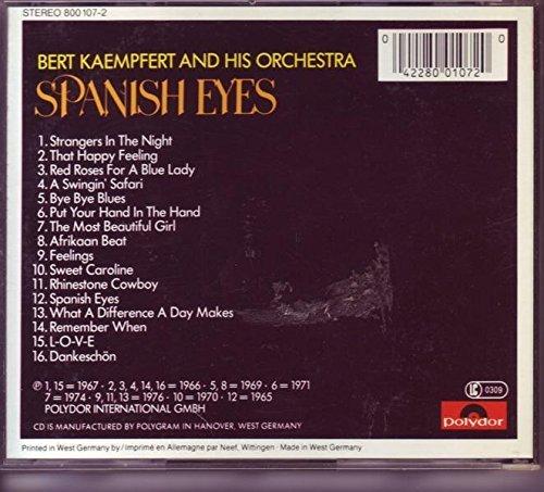Bild 2: Bert Kaempfert (Orch.), Spanish eyes (16 tracks, 1965-76)