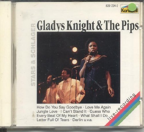 Bild 1: Gladys Knight & The Pips, Every beat of my heart (live; #839224-2)
