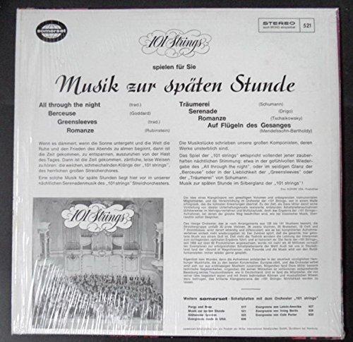 Bild 3: 101 Strings, Musik zur späten Stunde