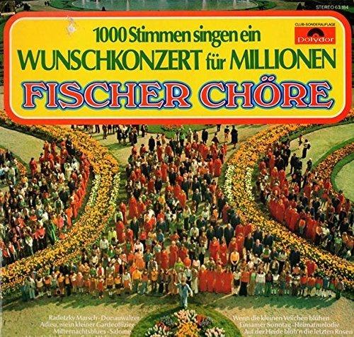 Bild 1: Fischer Chöre, 1000 Stimmen singen ein Wunschkonzert für Millionen