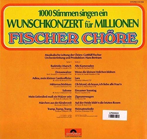 Bild 2: Fischer Chöre, 1000 Stimmen singen ein Wunschkonzert für Millionen