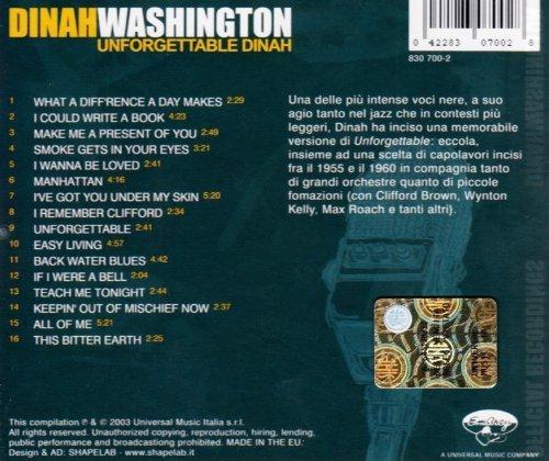 Bild 2: Dinah Washington, Compact jazz