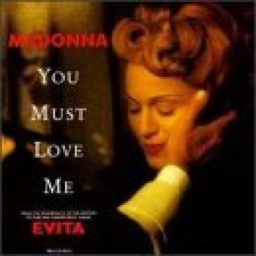 Bild 1: Madonna, You must love me (1996; 2 tracks, US)