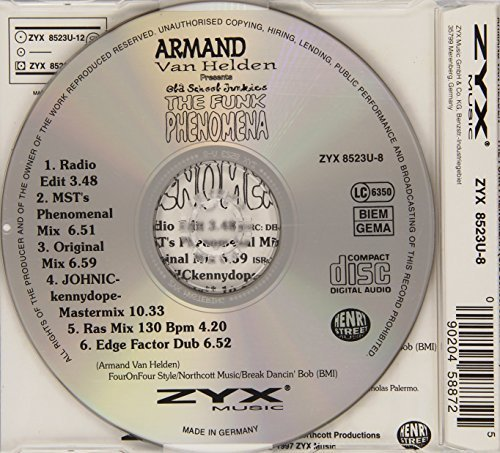Bild 2: Armand van Helden, Funk phenomena (#zyx8523u, incl. US Remixes)