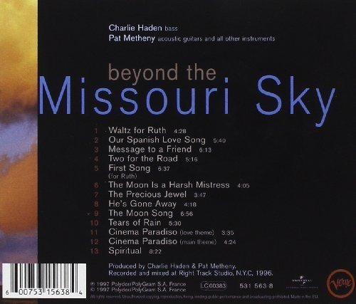 Bild 4: Charlie Haden, Beyond the Missouri sky (1997, & Pat Metheny)