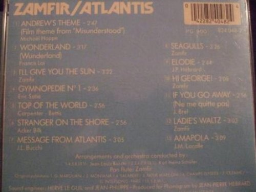 Bild 2: Gheorghe Zamfir, Atlantis (1984)